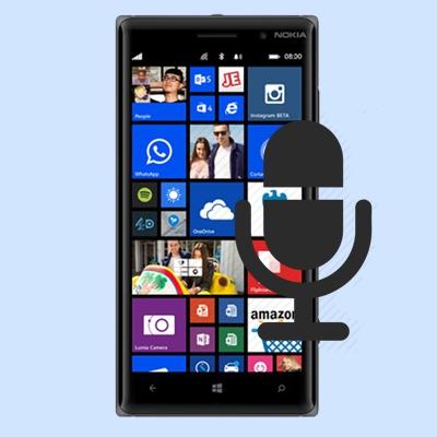Nokia Lumia 830 Microphone